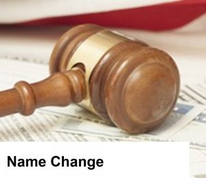 Can my ex change my son's last name without my permission?